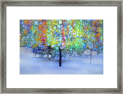 A New Day In Winter Framed Print