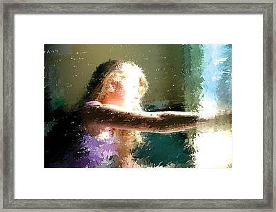 A New Day Framed Print by Judith Bicking