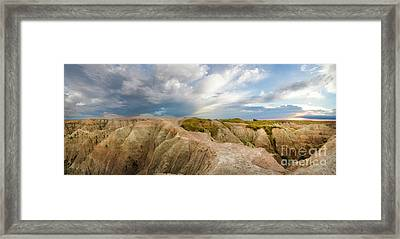 A New Day Panorama Framed Print