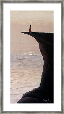 A New Day Framed Print by Orlando Torres Santiago