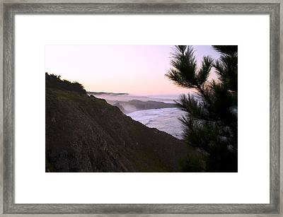 A New Day Ragged Point Framed Print by Gary Brandes