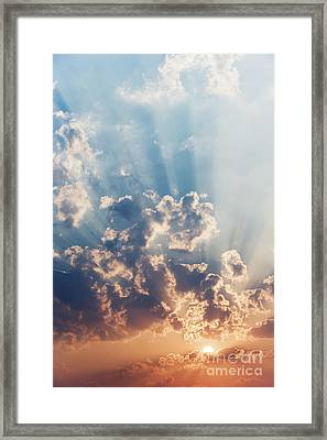 A New Day Framed Print by Tim Gainey