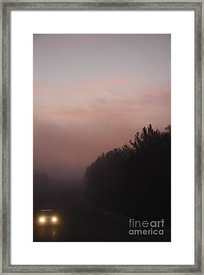Framed Print featuring the photograph A New Day by Viktor Savchenko