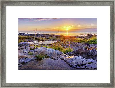 Framed Print featuring the photograph A New Day's Born by Dmytro Korol