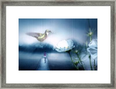 A New Dream Takes Hold Framed Print by Cathy  Beharriell