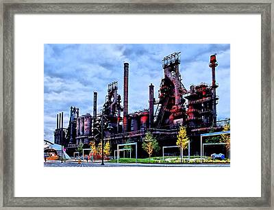 A New Era - Bethlehem Pa Framed Print