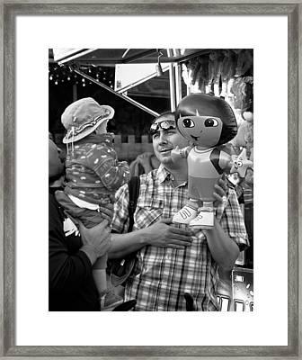 A New Friend Framed Print by Maggie Terlecki