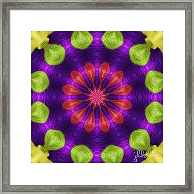A New Hairstyle Framed Print