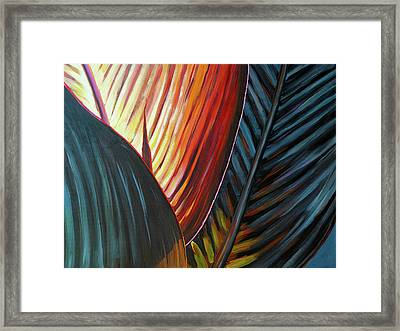 A New Leaf Framed Print by Lesley Spanos