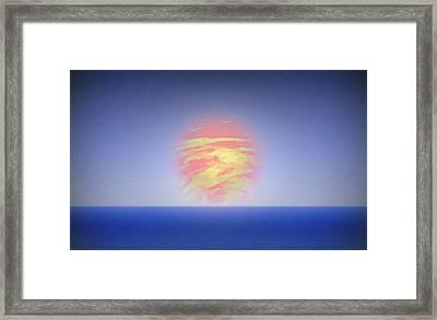 A New Planet Framed Print