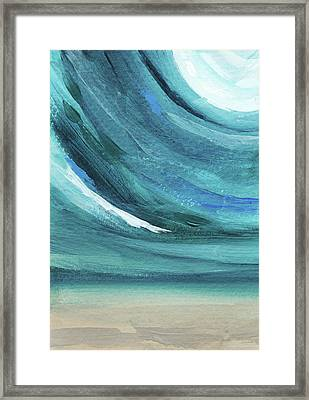 A New Start- Art By Linda Woods Framed Print
