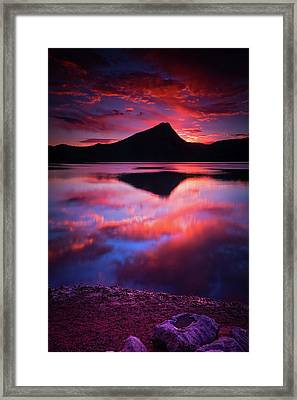 A New Start Framed Print by John De Bord