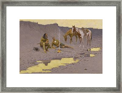 A New Year On The Cimarron Framed Print