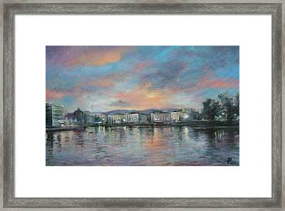 A Night At Geneva Framed Print