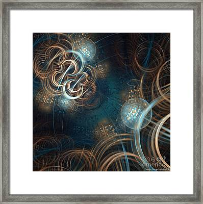 A Night At The Disco Framed Print