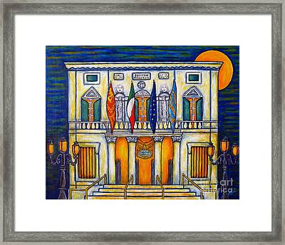 A Night At The Fenice Framed Print by Lisa  Lorenz