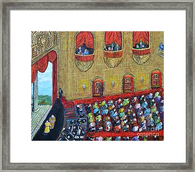 A Night At The Opera Framed Print by Richard Wandell