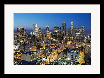 City Of Angels Framed Prints
