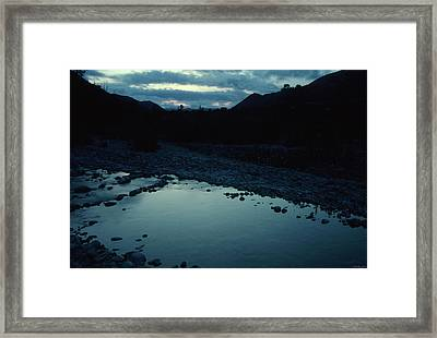 A Night In The Wilderness Framed Print