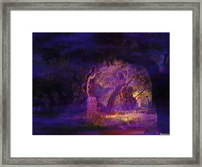 Framed Print featuring the photograph A Night Of Weeping In The Garden Gethsemane Israel 2008 by Anastasia Savage Ealy