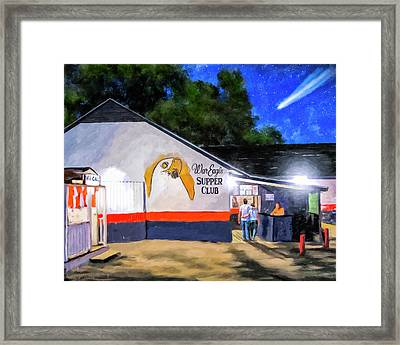 A Night To Remember In Auburn Framed Print