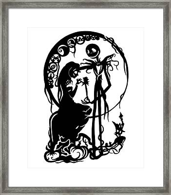 A Nightmare Before Christmas Framed Print