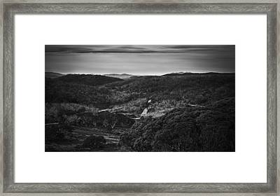 A Nomadic Way Framed Print by Mark Lucey