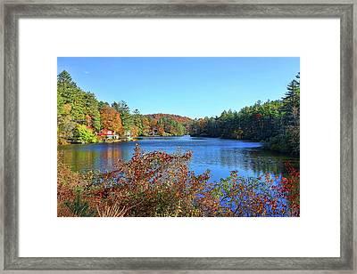 A North Carolina Autumn Framed Print