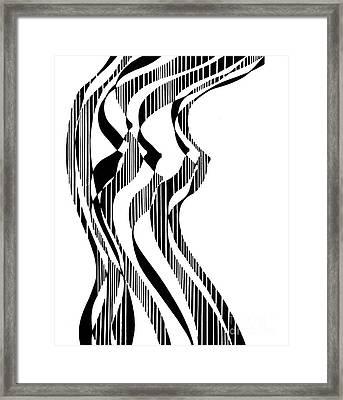 A Nude Figure, Untitled Framed Print