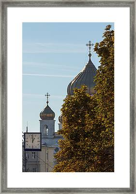 A One To One Framed Print by Konstantin Sakhin