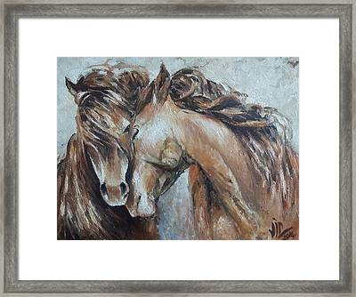 A Painting About Love  Framed Print