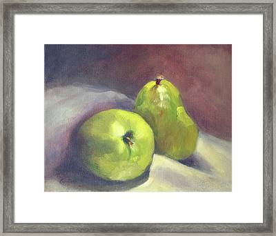 A  Pair Framed Print by Vikki Bouffard