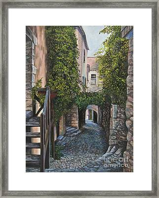 A Passage In Time Framed Print by Charlotte Blanchard