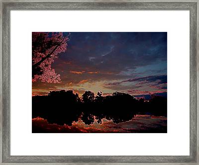 A Passing Memory Framed Print