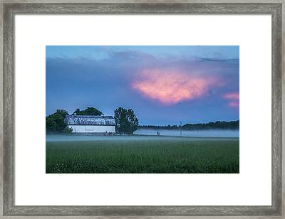 A Passing Spring Storm 2016-3 Framed Print by Thomas Young