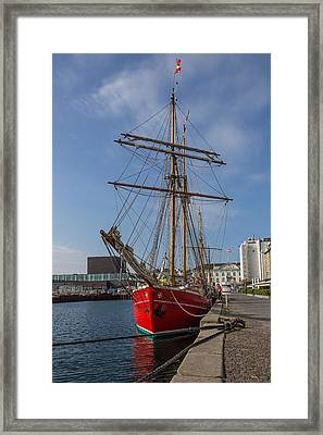 A Passion For Sailing Framed Print