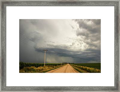 A Passion For Shelf Clouds 001 Framed Print