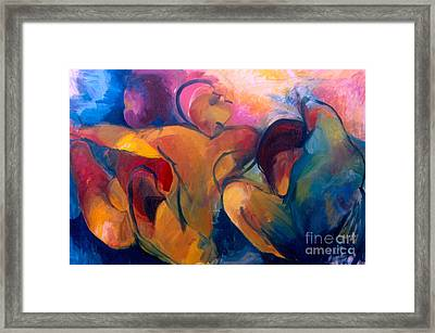 A Passion To Be Raised Framed Print