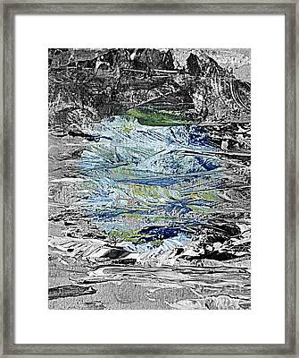 A Patch Of Blue Framed Print