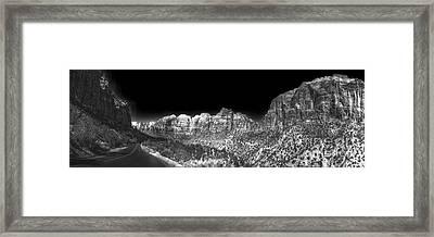 A Path Through Zion Framed Print by William Fields