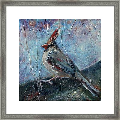 A Pause In The Feast Framed Print