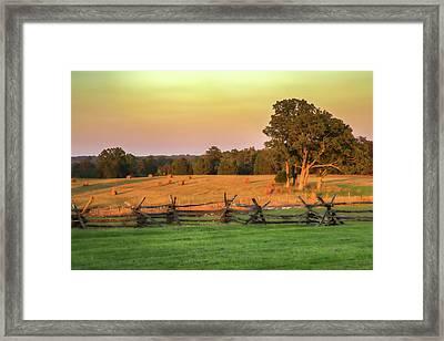 A Peaceful Manassas Framed Print by Tom Weisbrook