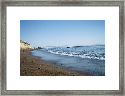 A Peaceful Path Framed Print by Susanne Awbrey