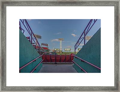 A Peek At The Monstah Framed Print