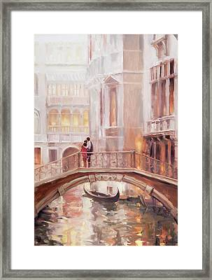 A Perfect Afternoon In Venice Framed Print