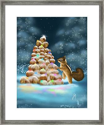 A Perfect Christmas Tree Framed Print
