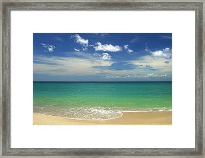 A Perfect Day- St Lucia Framed Print