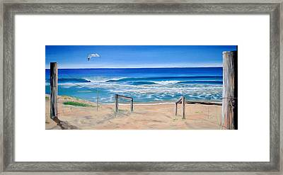 A Perfect Day Framed Print by Tania Kay