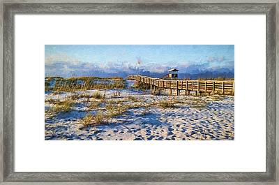 A Perfect Morning Framed Print by JC Findley
