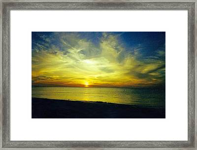 A Perfect Night Framed Print by Jean Haynes
